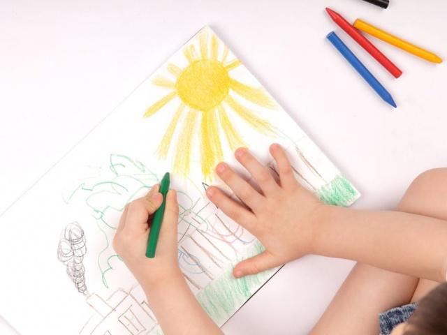 Ζωγραφίζουμε το σχολείο